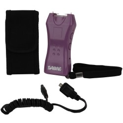 600,000V Mini Stun Gun w/Holster Purple SABRE
