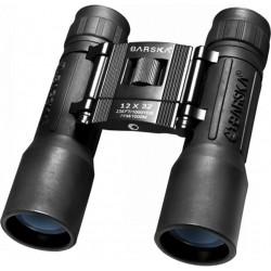12x32 Lucid View, Black, Compact,Blu Lens BARSKA-OPTICS