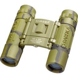 10x25 Lucid View, Camo, Compact, Blu Lens BARSKA-OPTICS