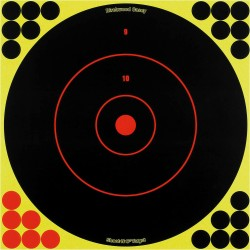 "Shoot-N-C Bull's Eye 12"" Round/ 5 sht pk BIRCHWOOD-CASEY"