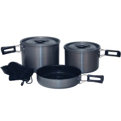 Cook Set Black Ice Trailblazer H. A. QT. TEX-SPORT