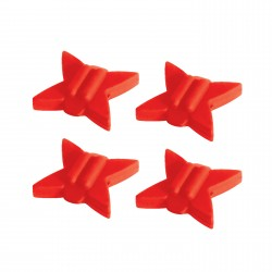 Tb String Silencers Red 4Pk TRUGLO