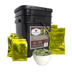 FreezeDried Vege&Sauce Bucket 120Serving WISE-FOODS