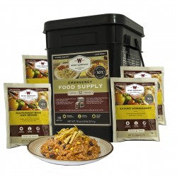 Prepper Pack Emergency Meal Kit Bucket WISE-FOODS