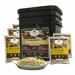 Entrée Only Grab&Go Bucket 120 Serving WISE-FOODS