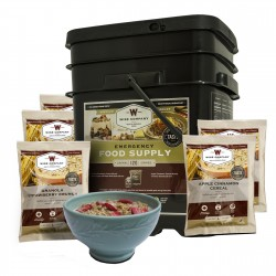 Breakfast Only Grab&Go Bucket 120 Serving WISE-FOODS