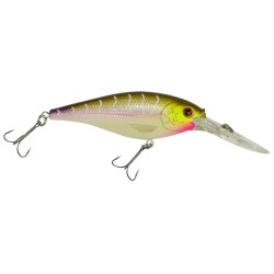 FFSH7M-PT FLCKR SHAD MED 7CM PRPLE TIGER BERKLEY