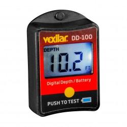 Digital Depth and battery gauge VEXILAR-INC