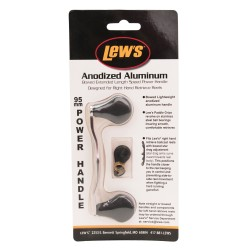 Bowed 95mm Aluminum Replacment Handles LEWS-FISHING