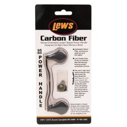 Bowed 95mm Carbon Fiber Replacmnt Handles LEWS-FISHING