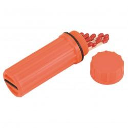 Matchbox Plastic W/matches COLEMAN
