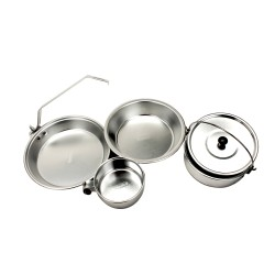 Mess Kit 1 Person Aluminum COLEMAN