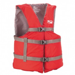 PFD 2001 Cat Adlt Boating Uni  Red STEARNS