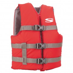 PFD 3007 Cat Boating Vest Youth Red STEARNS