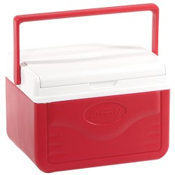 Cooler 5qt Red W Shield Glbl COLEMAN