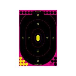 "Shoot N-C Pink 12"" x 18"" Silhouette -100 BIRCHWOOD-CASEY"