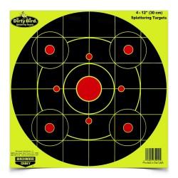 "Dirty Bird Chartreuse 12"" Bull's-eye-25 BIRCHWOOD-CASEY"
