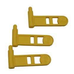 ERGO Pistol Safety ChamberFlag 3pk Yellow ERGO