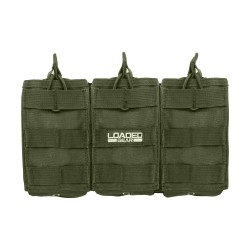 CX-200 Triple Magazine Pouch, Green BARSKA-OPTICS