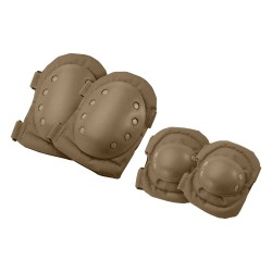 CX-400 Elbow and Knee Pads, Tan BARSKA-OPTICS