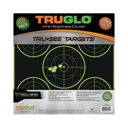 Target 5-Bull 12X12 50Pk TRUGLO