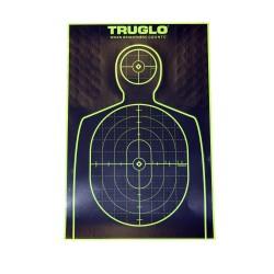 Target Handgun 12X18 50Pk TRUGLO