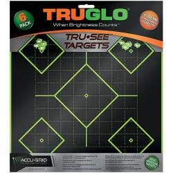 Target 5-Diamond 12X12 6Pk TRUGLO