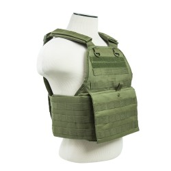 Vism By Ncstar Plate Carrier Vest/Green NCSTAR