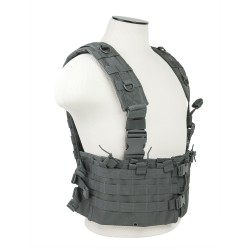 Vism By Ncstar Ar Chest Rig/Urban Gray NCSTAR