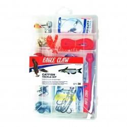 Catfish Tackle Kit TK-CATFISH1 38pcs EAGLE-CLAW
