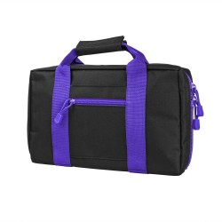 Vism Discreet Pistol Case-Blk w/Purple NCSTAR
