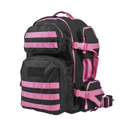 Vism Tactical Backpack-Blk w/Pink NCSTAR