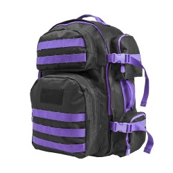 Vism Tactical Backpack-Blk w/Purple NCSTAR
