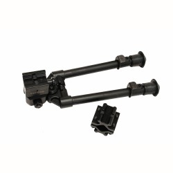 Bipod,Weaver QR Mnt/Uni. Barrel Adpter/NL NCSTAR