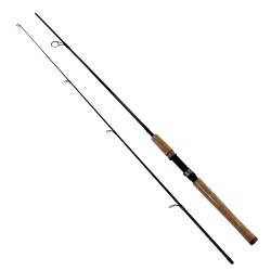 GRAPHEX 6' 2PC MED SPINNING ROD ZEBCO-QUANTUM