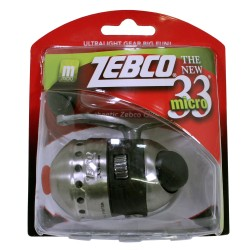 33MICRO SPINCAST REEL Clam ZEBCO-QUANTUM