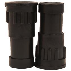 Oarlock Adapter Pair,Black, Bulk SCOTTY