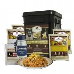 Ultimate 72 Hou Emergency Kit Filter/Fire WISE-FOODS