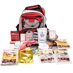 5 Day Survival Back Pack (Red) WISE-FOODS