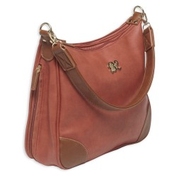 Hobo Style Purse w/Holster Brick Red/Tan BULLDOG-CASES