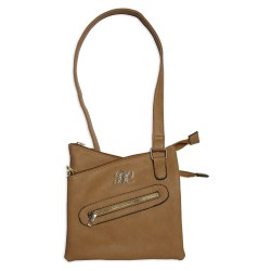 Cross Body Style Purse w/Holster Tan BULLDOG-CASES