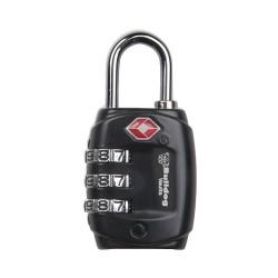 TSA Lock w/Steel Shank /1 BULLDOG-CASES