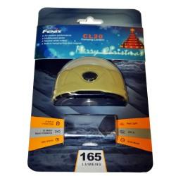 165 Lumen Fenix Lantern (CR123/AA),Orange FENIX-FLASHLIGHTS