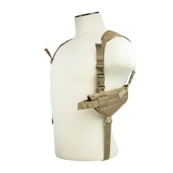 Vism Ambi Horizontal Shoulder Holster/Tan NCSTAR