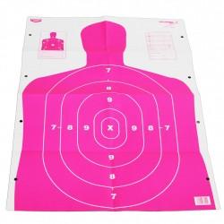 "Eze-Scorer 23""x35"" BC27 Pink-5 paper tgts BIRCHWOOD-CASEY"