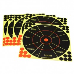 "Shoot-N-C 12"" Handgun Trainer Target-5pc BIRCHWOOD-CASEY"