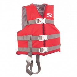 PFD 3004 CAT BOATING VEST CHLD  RED C006 STEARNS