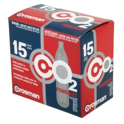 Powerlet Cartridges - 12 Gram - 15 Count CROSMAN