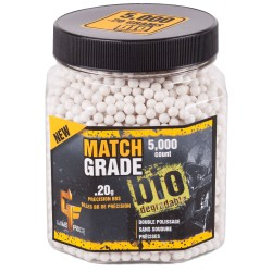 Match Grade 6mm Bio BB .20gr /5000 CROSMAN