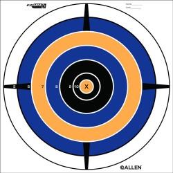 EZ Aim Bullseye Target (12 per pack) ALLEN-CASES